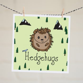 just because card Hedgehugs