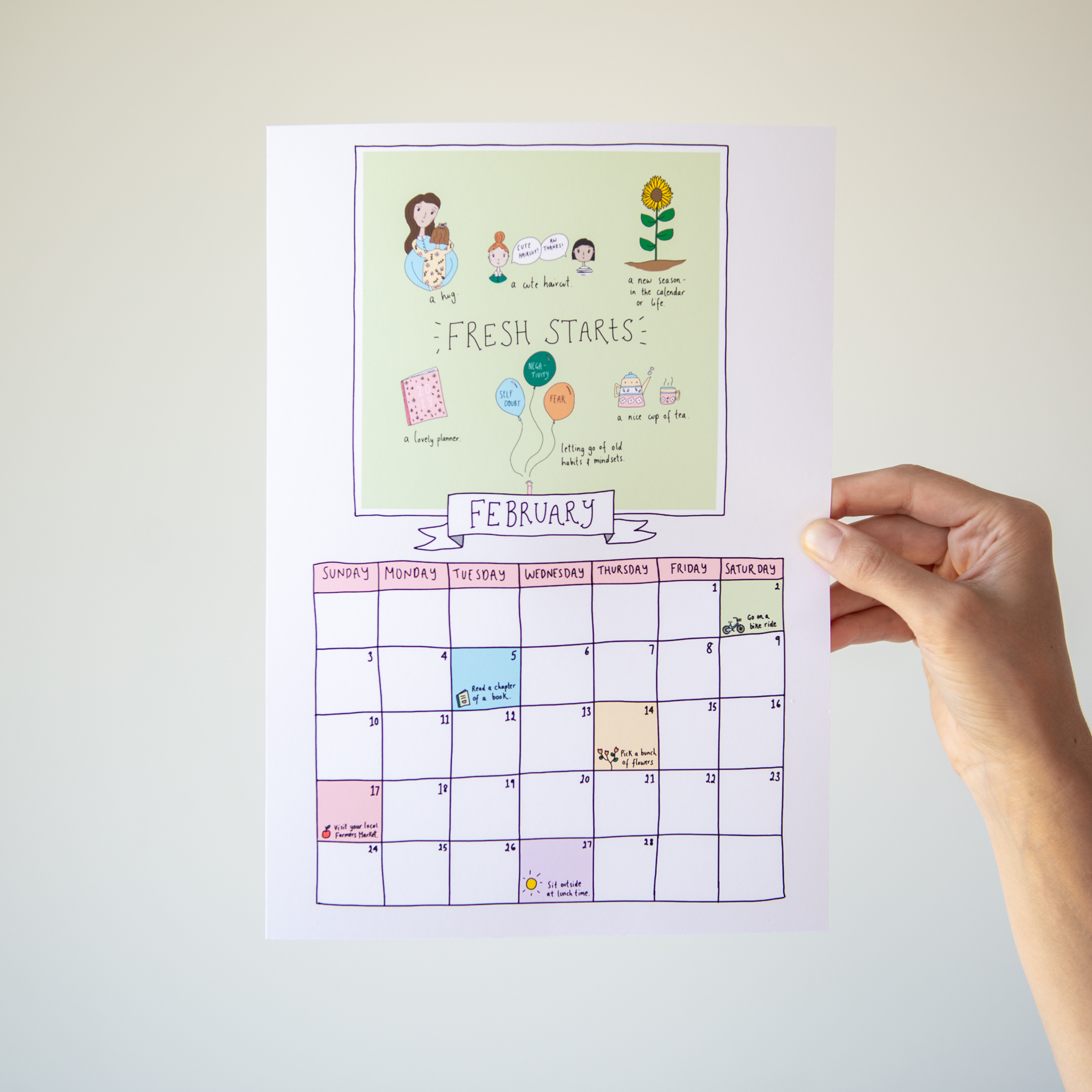 image about Printable Calendar -16 called Totally free Printable Calendar and Weekly Planner - wordfinders club